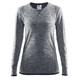 Craft Active Comfort Intimo parte superiore Donna grigio